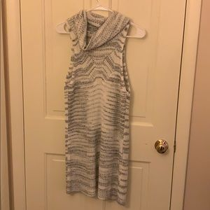 White and grey tunic